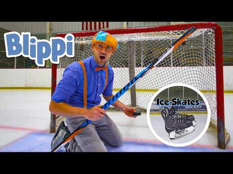 Blippi Visits an Ice Rink | Blippi Songs | Educational  Videos For Kids | Moonbug Kids