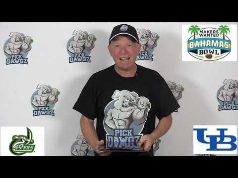 Buffalo vs Charlotte 12/20/19 Free College Football Pick and Prediction: Bahamas Bowl Prediction