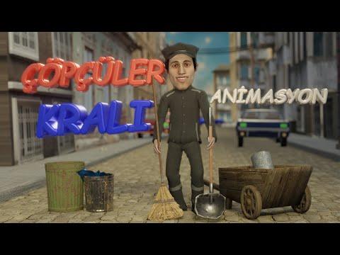 ÇÖPÇÜLER KRALI-( Komik Animasyon, Şaban animasyon, Kemal Sunal, Şener Şen) Kemal Sunal filmleri indir