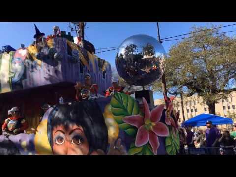 Mardi Gras ParadeCam 2017: Krewes King Arthur, Alla