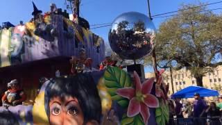 Mardi Gras ParadeCam - King Arthur and Alla 2017
