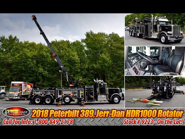 Upgraded 2018 Jerr-Dan 50/60 Ton JFB Gold Series Rotator Wrecker - Stock#9223N
