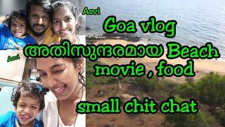 Goa vlog malayalam|Grandmother's hole beach|Malayali vlogger|Euporbia box unboxing|Asvi