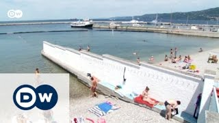 Ansturm auf Triester Traditionsschwimmbad | Fokus Europa