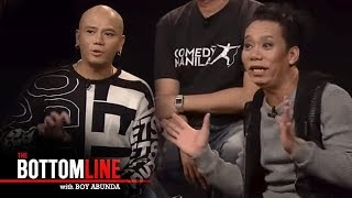 The Bottomline: Comedians Lassy and Wacky Kiray discuss types of comic performances
