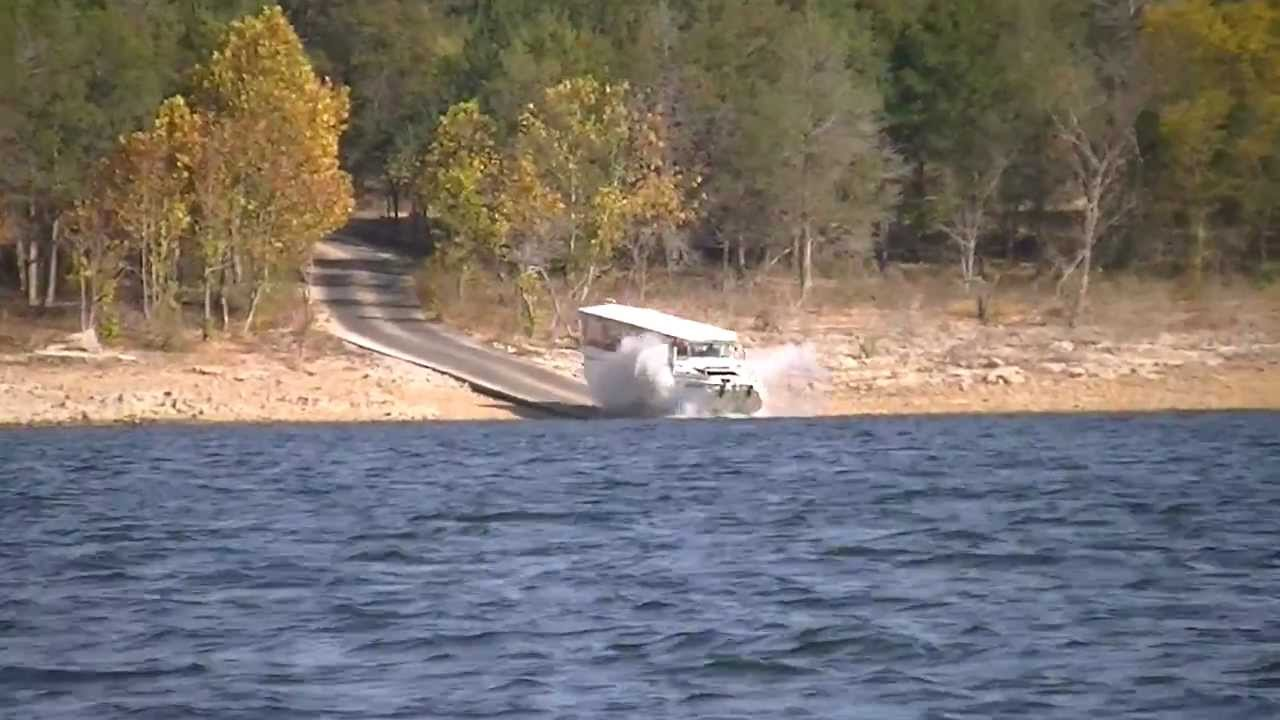 Macie E Navigates A Duck Boat On Table Rock Lake Part 1