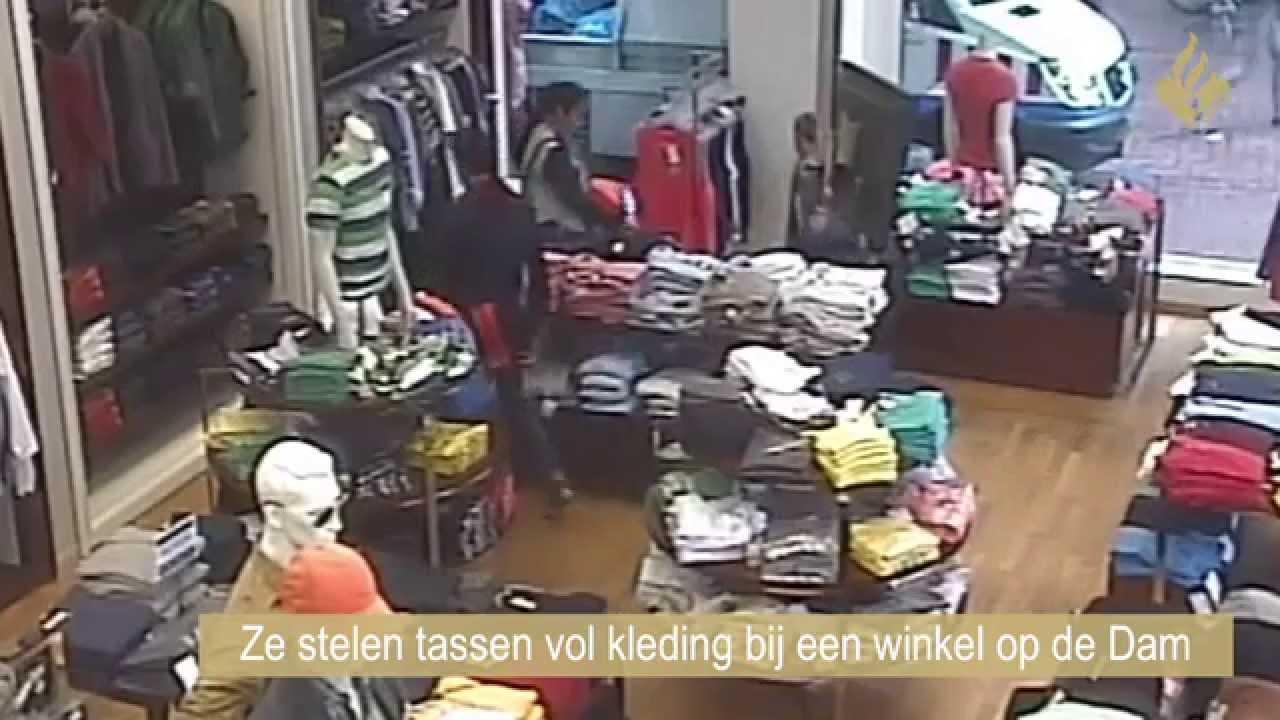 Tassen Amsterdam Winkel : Trio steelt tassen vol kleding bij winkel dam