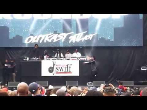 K Camp Live Concert Outkast #ATLast Atlanta 2014