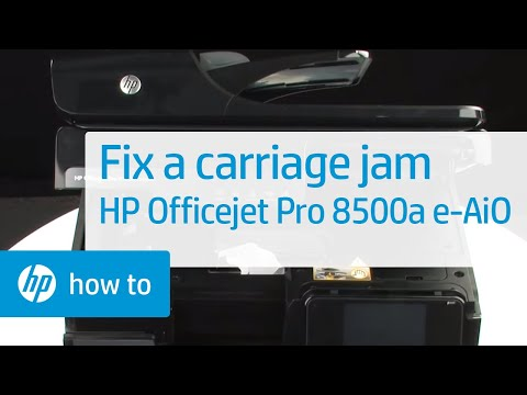 hp officejet pro 8500 print head replacement tutorial funnycat tv. Black Bedroom Furniture Sets. Home Design Ideas
