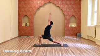 Surya Namaskara B teaching method.