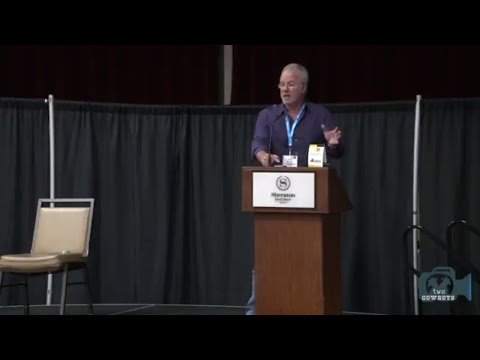 Alberta Craft Brewing Convention 2017: Keynote - Tony Magee, Lagunitas (sponsored by Rahr Malting)