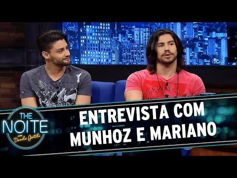 The Noite (27/05/15) - Entrevista com a dupla Munhoz e Mariano