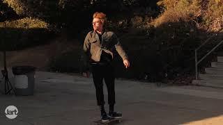 Jart Skateboards - Adrien Bulard back tail el Toro RAW CUT