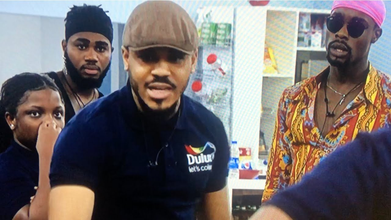 BBNaija Clash! Angry Ozo and Prince Clash During Rehearsals