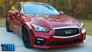 homepage tile video photo for 525HP Infiniti Q50 Review: Four Door Nissan 400Z?