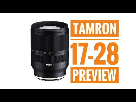 Tamron 17-28 f2.8 for Sony E mount Pre Orders Go Live June 27 at 11pm EST!