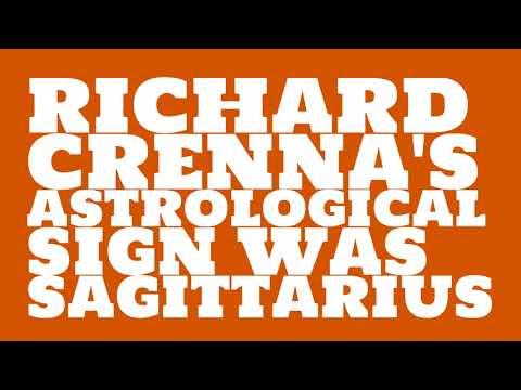 What was Richard Crenna's birthday?