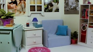 Setting Up My American Girl Room (house) Time-lapse Requested By Dollastic