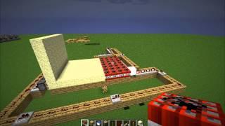 Minecraft: Prototyp automatycznej armaty [12 ammo]