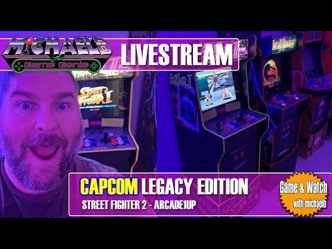 Arcade1Up Capcom Legacy Edition Livestream | MichaelBtheGameGenie from MichaelBtheGameGenie