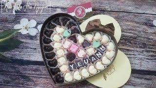 Cách Làm Socola Cho Ngày Lễ Tình Yêu - How to make Chocolate Valentine