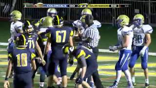 Colonials Football Week 10 @ Andover 11/3/17