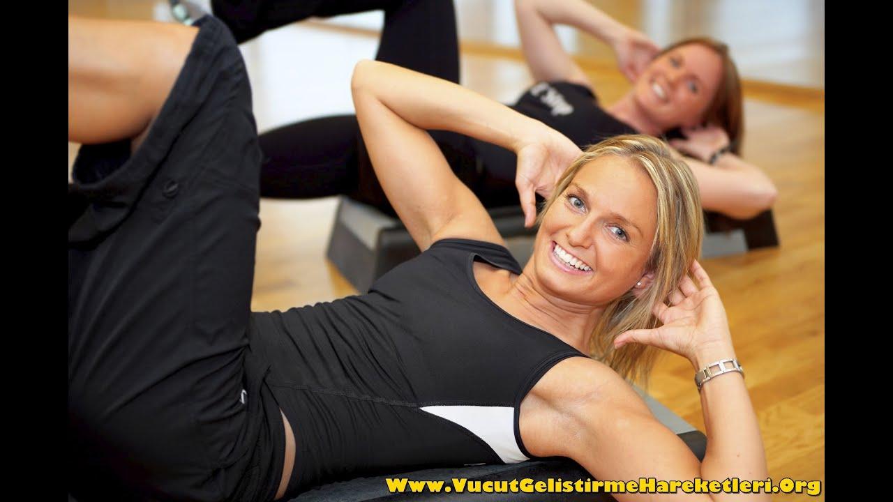 Evde Kalça Eritme Egzersizleri - Resimli