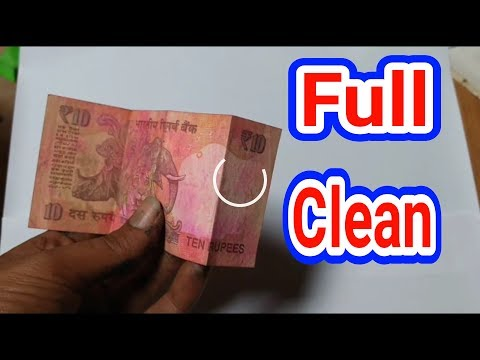 Remove colour, ink stain from Indian note #SustainableEveryDay