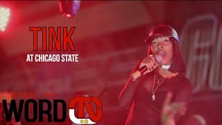 """Tink Performs """"I Like"""" in chicago"""