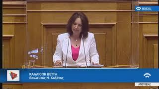 2020.07.28 • Ομιλία στο νομοσχέδιο του Υπ. Παιδείας και Θρησκευμάτων με θέμα την ιδιωτική εκπαίδευση