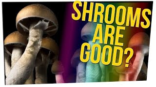 Study Suggests Shrooms Can Help With Depression ft. Gina Darling & DavidSoComedy