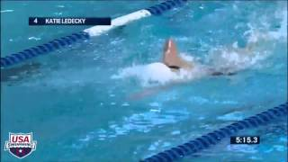 Katie Ledecky Breaks Another World Record - Arena Performance of the Month