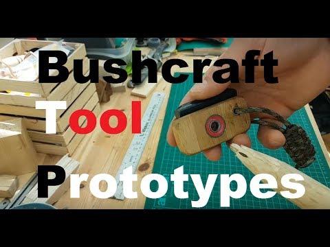 """""""Bow Drill bearing block"""" part 2  (really) Bushcraft Tool prototypes"""