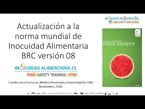 BRC 8 Principales Cambios