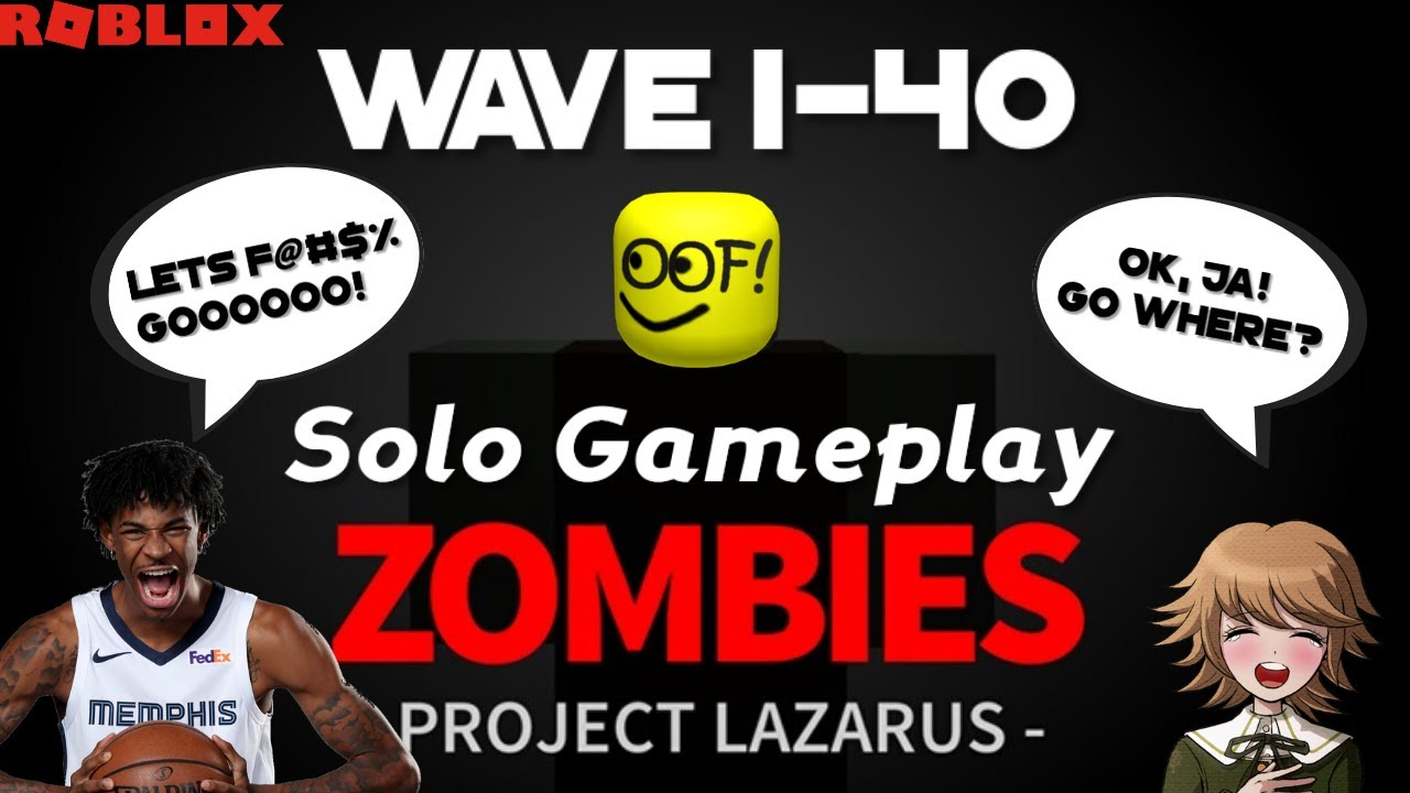 Project Lazarus: Zombies Solo Gameplay Wave 1-40