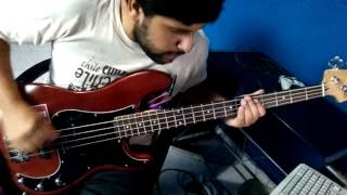 Fat lipe bass cover - The idiots are taking over ( NOFX )