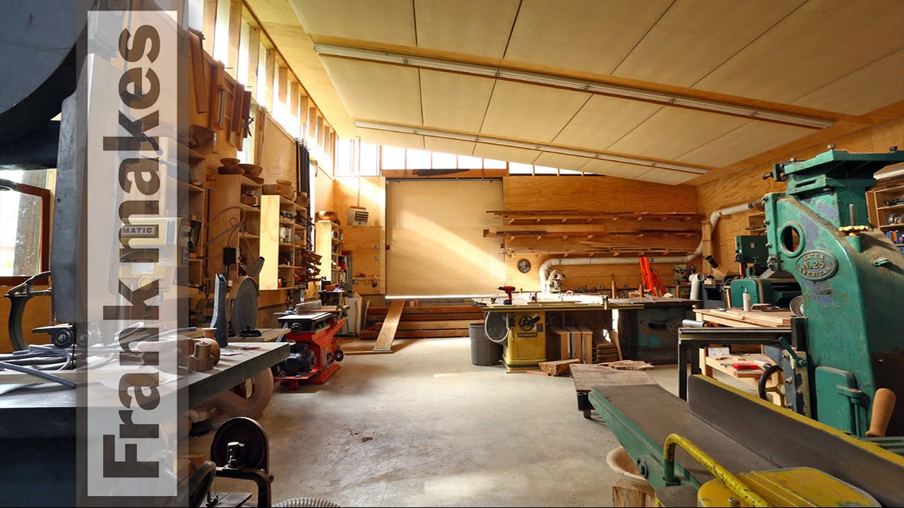 The Woodshop Tour Youtube