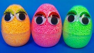 Repeat youtube video Interesting surprise eggs! Disney PLANES Nickelodeon SpongeBob Thomas & friends For Kids mymillionTV