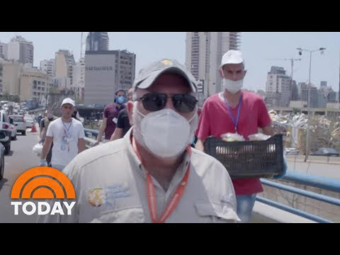 José Andrés Takes His Relief Efforts To Beirut After Massive Explosion | TODAY