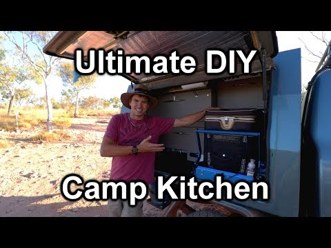 Ultimate DIY Canopy Camp Kitchen – Project Cyan