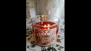 Candle Review 719 Walnut Avenue } Caramel Cinnamon Roll