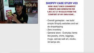 Rich Dad Summit $5,000 Bonus & RM1 Million+ In Sales With SHOPIFY CASE STUDY #33