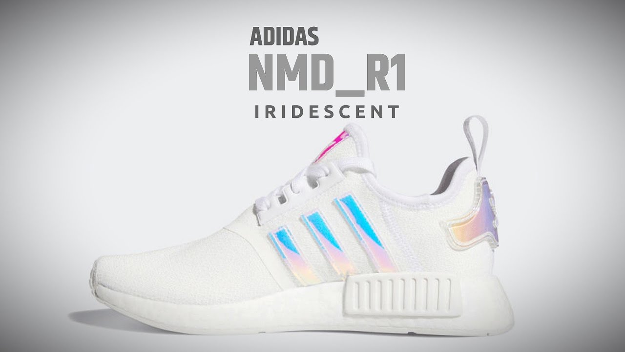 ADIDAS NMD R1 IRIDESCENT WMNS RELEASE INFO - YouTube