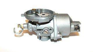 Установка гвинта якості суміші на карбюратор човнового мотора 2.6