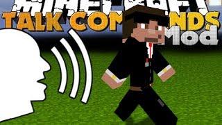 Steve obéit à ma VOIX !! - Harken Mod Minecraft [FR] [HD]