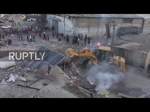 State of Palestine: Israeli airstrikes hit targets in Gaza amid rocket fire