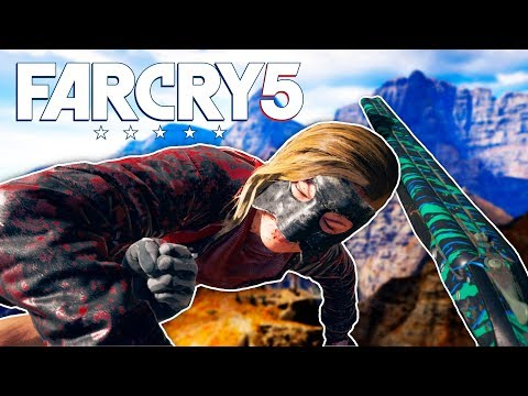 PUNCHING WOLVES & SKYDIVING ACCIDENT in Far Cry 5 Funny Moments (FAR CRY 5)