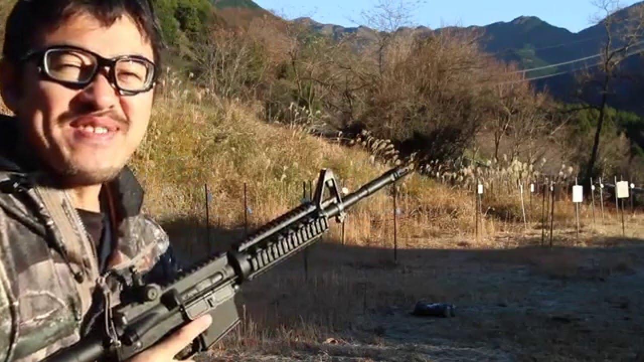 東京マルイ M4A1 MWS 気温4度で暖めずに撃てるかテスト・マック堺のサブチャンネル動画 , YouTube