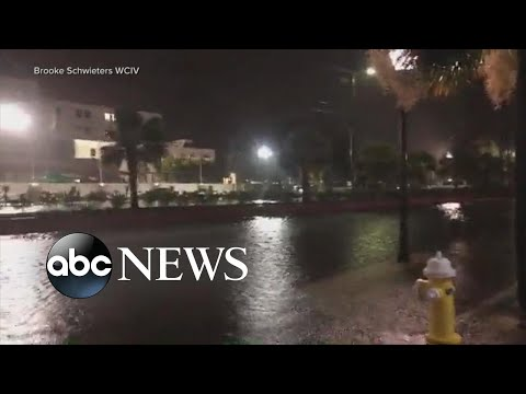 South Carolina braces for Dorian's storm surge l ABC News