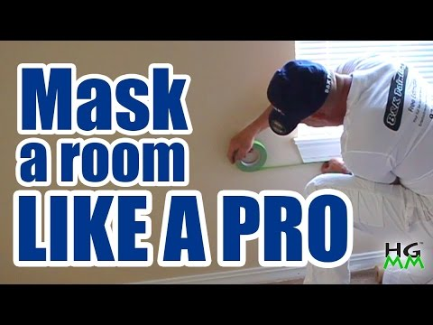 How To Mask Off A Room For Painting You